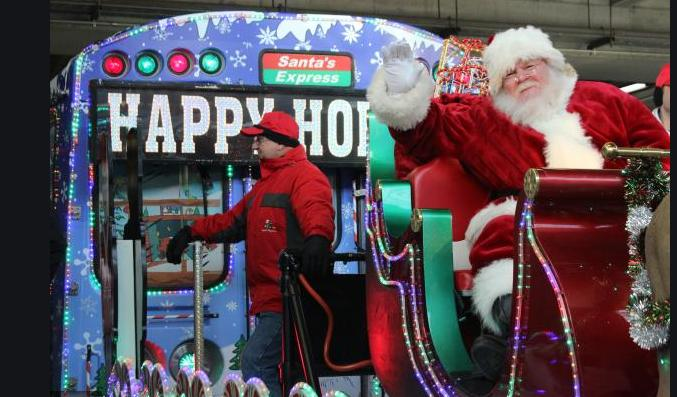 Allstate CTA Holiday Train & Bus Schedule