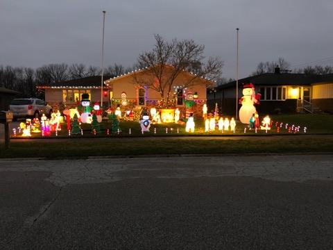 Decorated Christmas Home- 3743 Alti Ct Highland