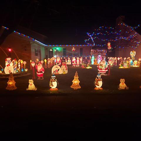 Decorated Christmas Home- 9054 E 124th  Ct., Winfield