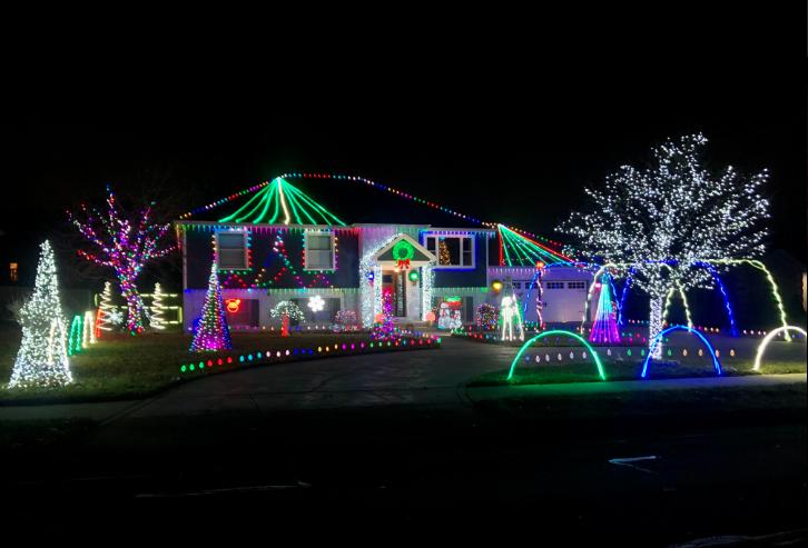 Decorated Christmas Homes- 6846 Portage Ave.- Portage
