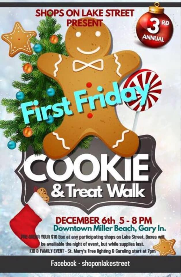 Cookie Walk on First Friday!