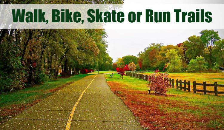 25+ Walk, Bike, Skate or Run- Trails in Northwest Indiana
