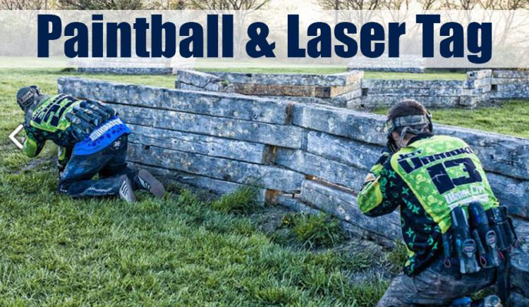 Paintball and Laser Tag in Northwest Indiana