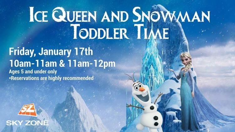 Ice Queen and Snowman Toddler Time