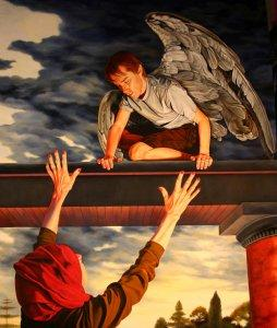 Mary Bourke Icarus Bids His Wingless Mother Goodbye