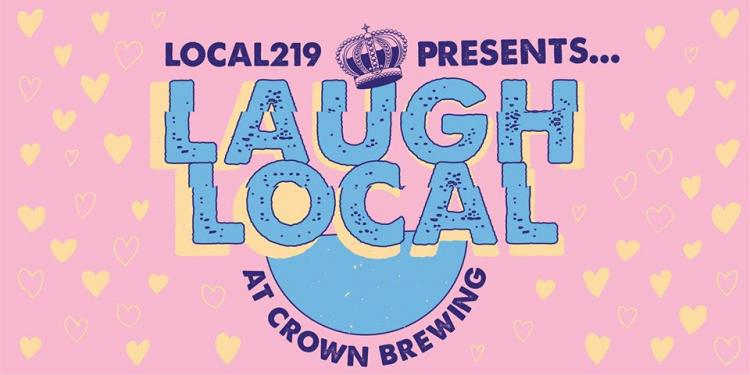 Valentine's Day Laugh Local at Crown Brewing