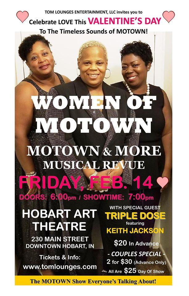 Valentine's Show - Women of Motown Musical Revue