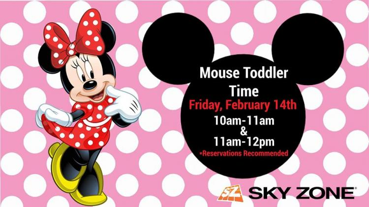 Mouse Toddler Time at Sky Zone