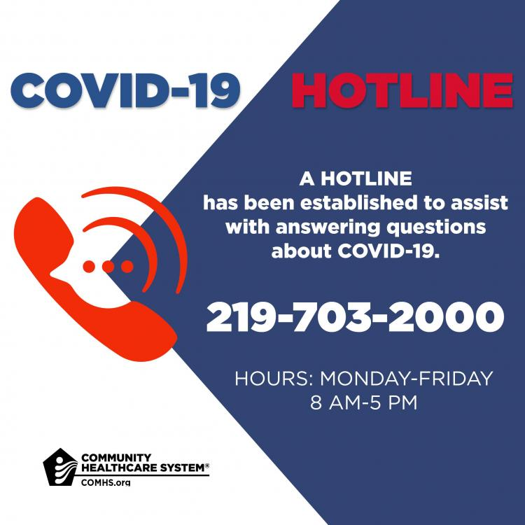 COVID-19 HOTLINE by Community Healthcare System