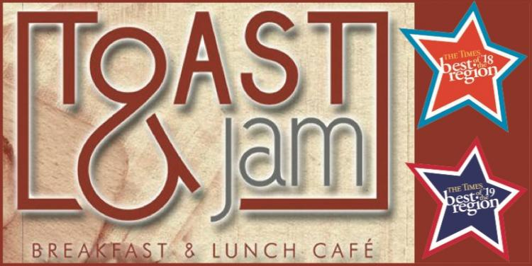 Toast & Jam is Open for Delivery & Curbside Pick-Up