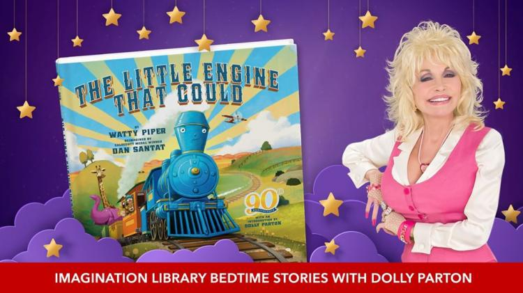 Bedtime Stories with Dolly Parton on Thursday Evenings