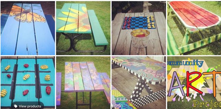 Paint a Picnic Table!