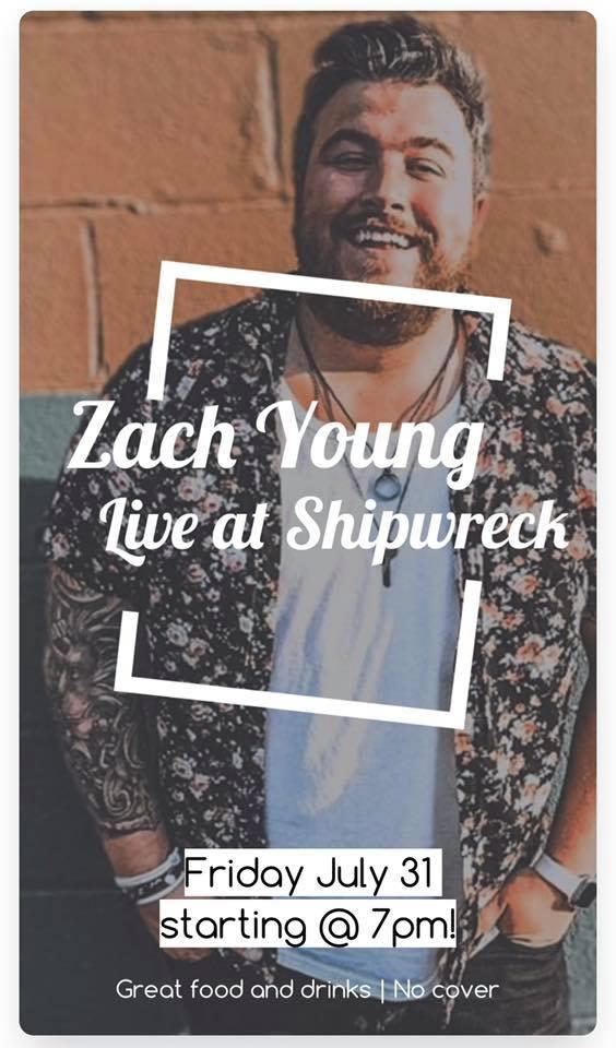 Zach Young at Shipwreck