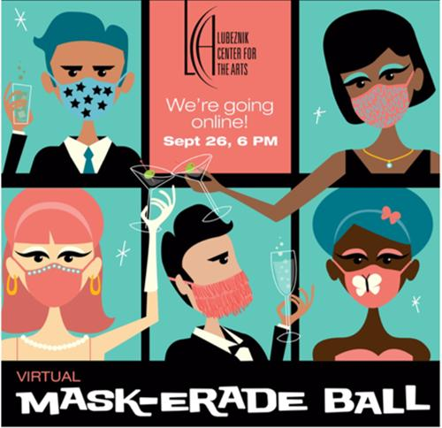 Virtual Mask-erade Ball and Art Auction