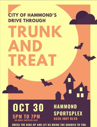Hammond Trunk or Treat Vendor Sign Up