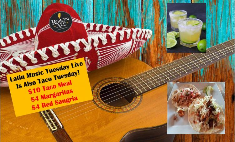 Tuesdays at Region Ale Tap House & Eatery