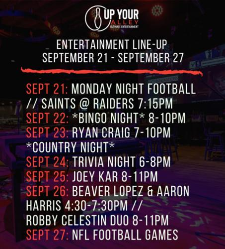 Events at Up Your Alley
