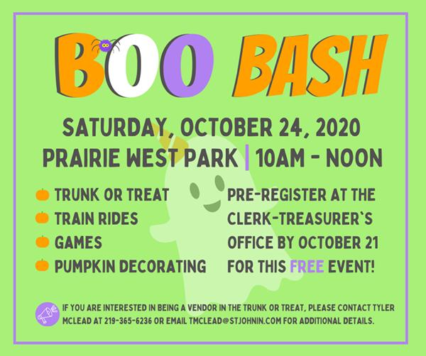 St. John Boo Bash and Trunk or Treat