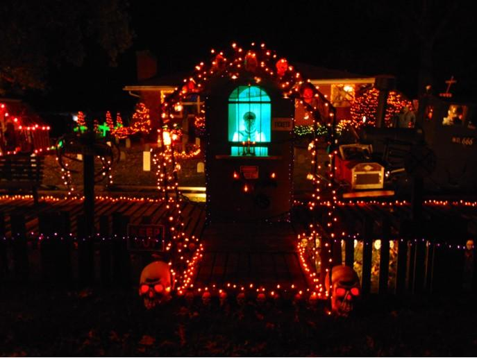 Halloween Decorated Home in Portage, 2691 Teresa St.