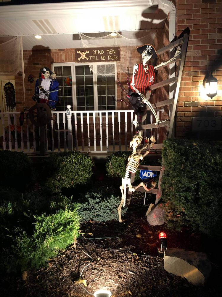 Halloween Decorated Home in Dyer, 703 Hilbrich Ct.