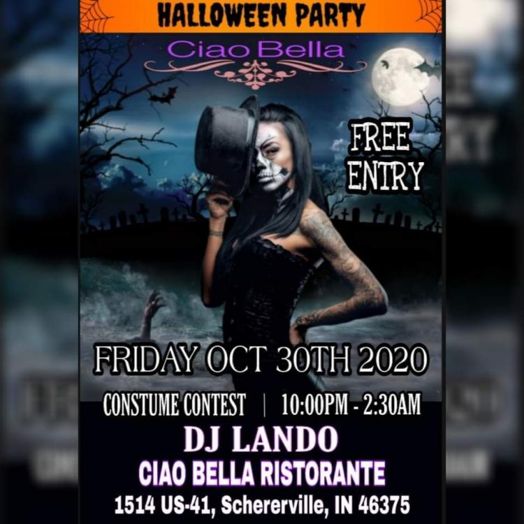 Halloween Party at Ciao Bella
