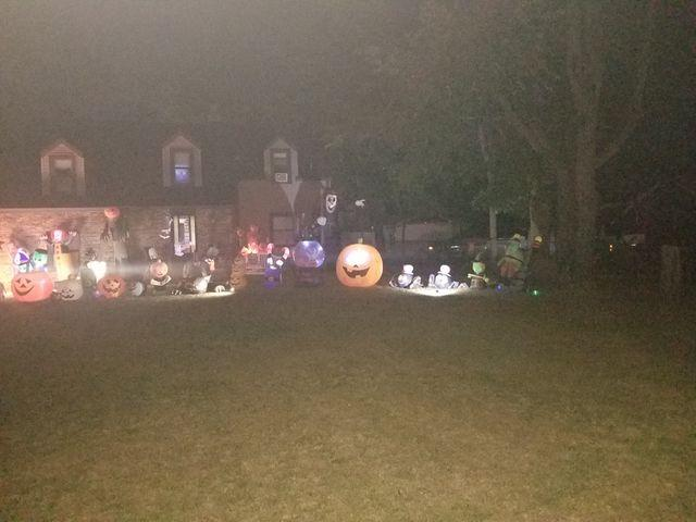 Halloween Decorated Home in Portage, 6062 Mulberry Ave.