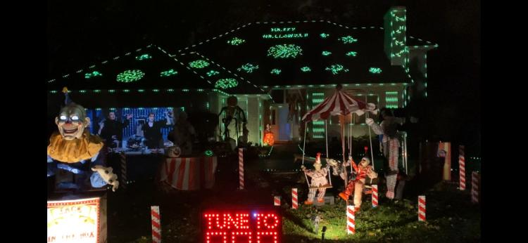 Halloween Decorated Home in Dyer, 2601 Hickory Dr.