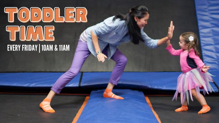Toddler Time at Sky Zone Schererville