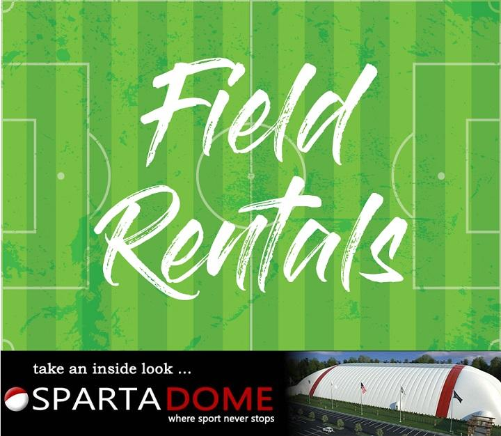 Field Rentals at Sparta Dome in Crown Point