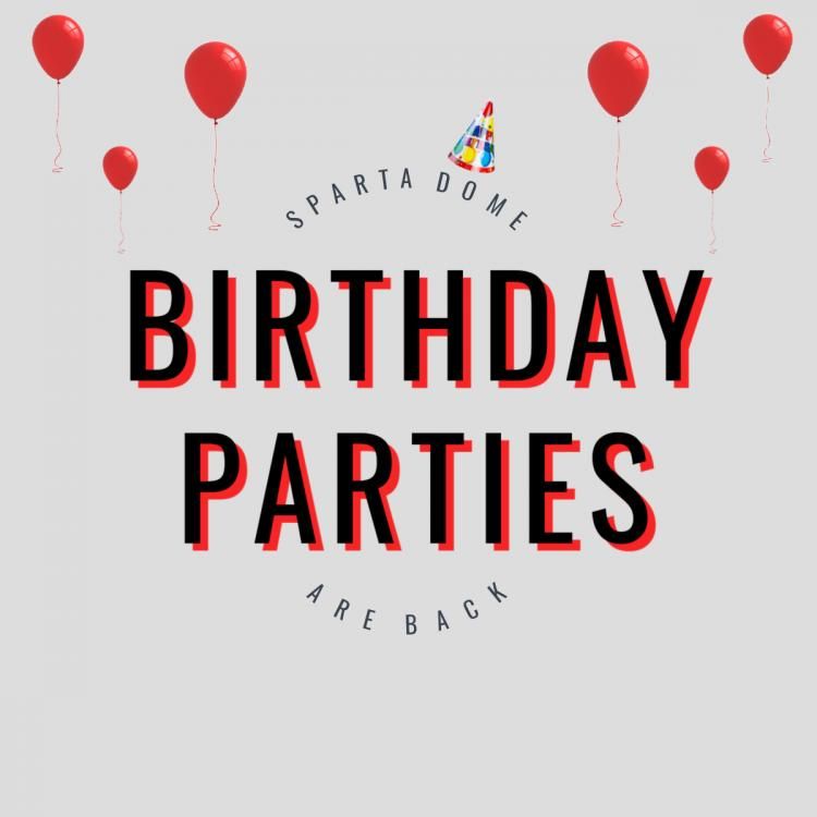 Celebrate your Birthday Party at Sparta Dome in Crown Point!