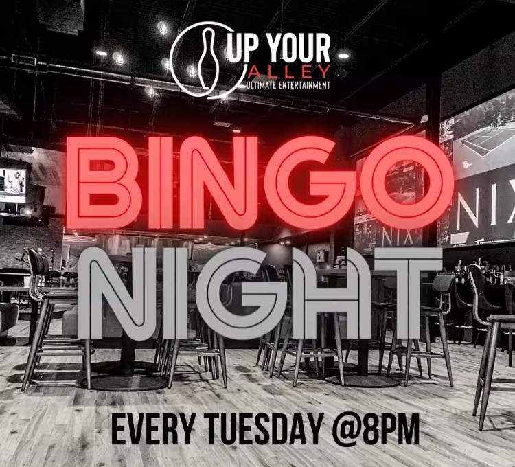 Free 'N Fun Bar Bingo at Up Your Alley in Schererville Every Tuesday Night!