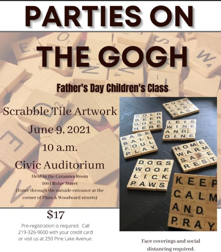 Father's Day Children's Class with Parties on the Gogh in La Porte