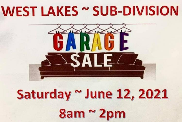 West Lakes Subdivision Garage Sale in Munster