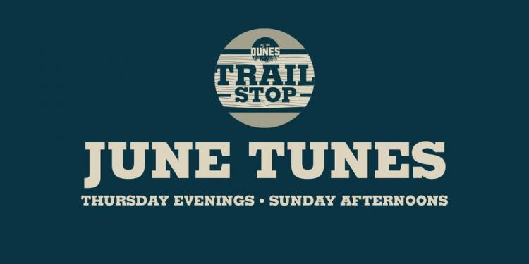 June Tunes Live Music at Dig the Dunes Trail Stop in Portage