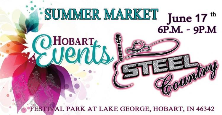 Summer Market with Steel Country in Hobart