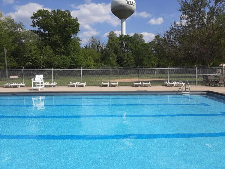 Spencer Park Pool in Demotte