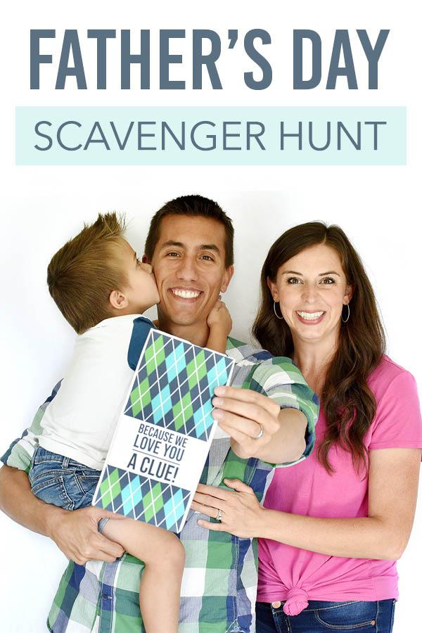 Father's Day Scavenger Hunt at Rogers Lakewood Park