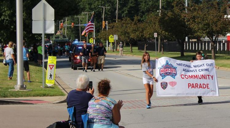 Munster  National Night Out Against Crime Parade