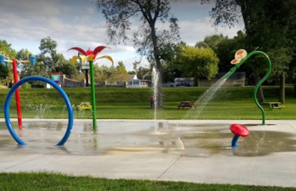 Wythogan Park Splash Pad in Knox