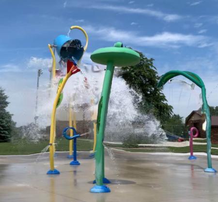 Remington Community Park Splash Pad