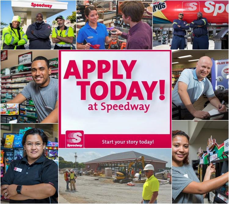 Speedway Career Opportunities - Apply Today!