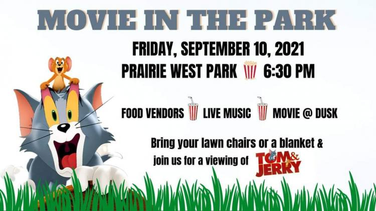 Tom & Jerry Movie in the Park