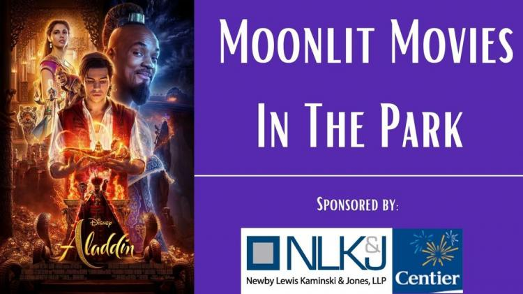 Moonlit Movies in the Park - Aladdin