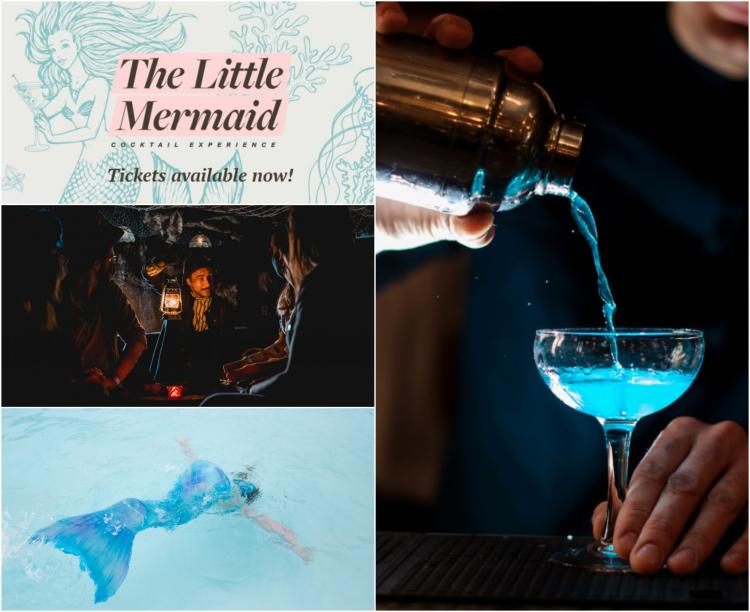 The Little Mermaid Cocktail Experience in Chicago