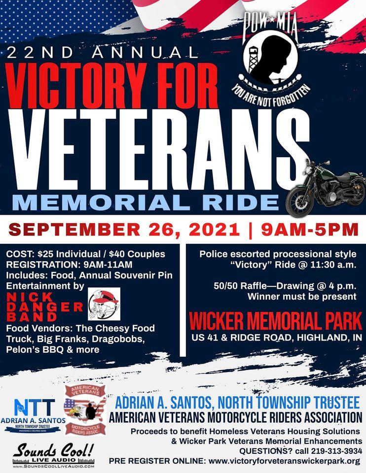 21st Annual Victory for Veterans Memorial Ride