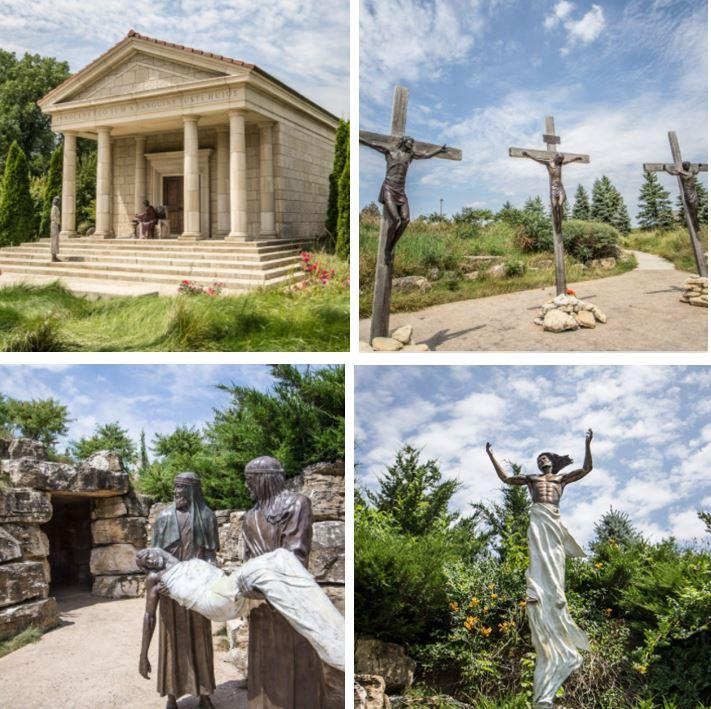 Take the Journey at The Shrine of Christ's Passion
