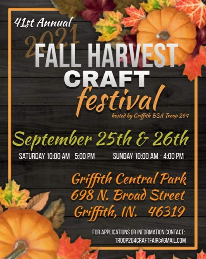 Annual Griffith Fall Harvest Craft Festival