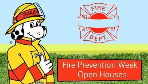 Fire Department Open Houses in NWI & Fire Prevention Week Tips  🚒🔥👨🚒