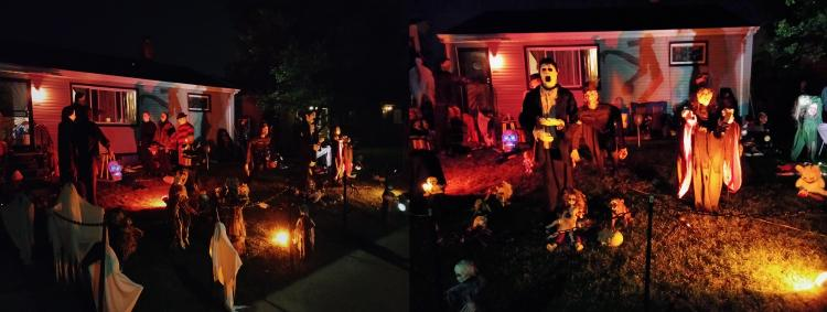 Decorated Halloween Home in Hammond (1616 170th Pl)