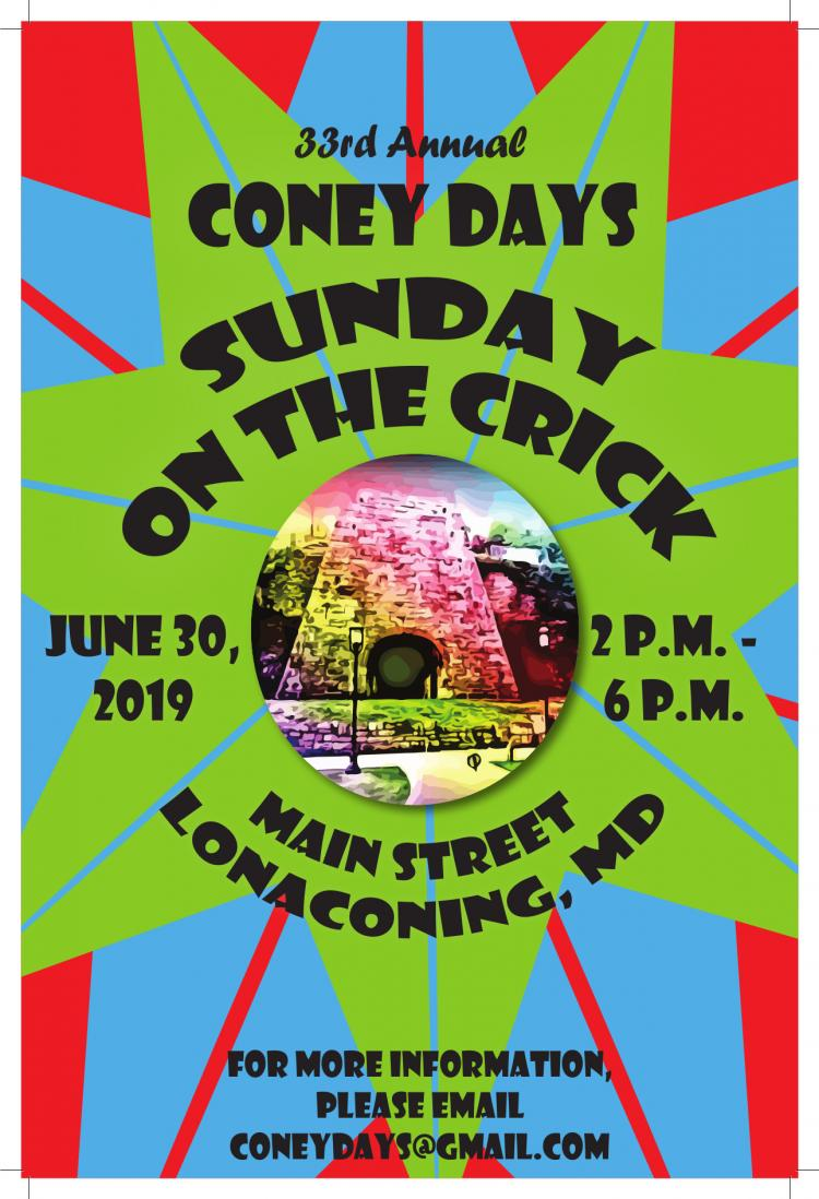 33rd Annual Coney Days- Sunday on the Crick